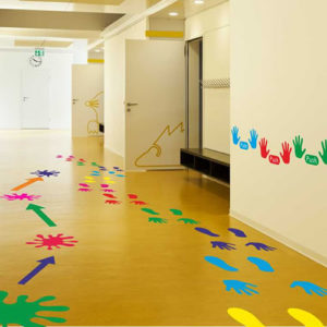 What are active learning and sensory stickers?