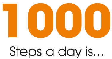 1000 Steps A Day